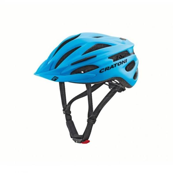 Fahrradhelm Cratoni Pacer (MTB) Gr. S/M (54-58cm) blau matt
