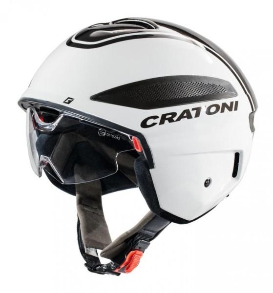 Fahrradhelm Cratoni Vigor (S-Pedelec) Gr. L (58-59cm) weiß/anthrazit glanz