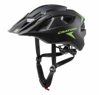Fahrradhelm Cratoni AllRide (MTB) Gr. Uni (53-59cm) schwarz/grün matt