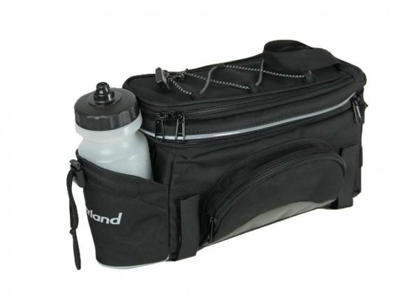 Gepäckträgertasche Haberland Flexibag S schwarz, 34x18x15cm, 6 ltr