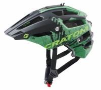 Fahrradhelm Cratoni AllTrack (MTB) Gr. M/L (58-61cm) grün matt