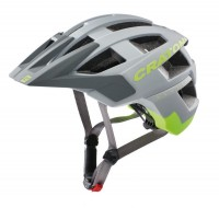 Fahrradhelm Cratoni AllSet (MTB) Gr. M/L (58-61cm) grau/neongelb matt