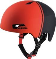 Fahrradhelm Alpina Hackney black-red Gr.47-51