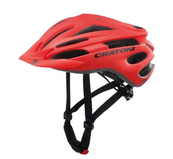 Fahrradhelm Cratoni Pacer (MTB) Gr. S/M (54-58cm) rot matt