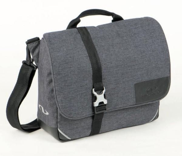 Lenker-Tasche Norco Norwich Urban tweed-grau, 30x25x10cm, ohne Lenkeradapt