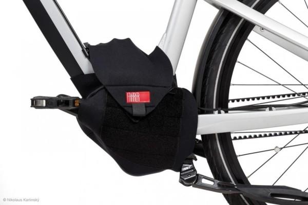 Fahrer Antriebsschutz E-Bike Universal für Mittelmotor