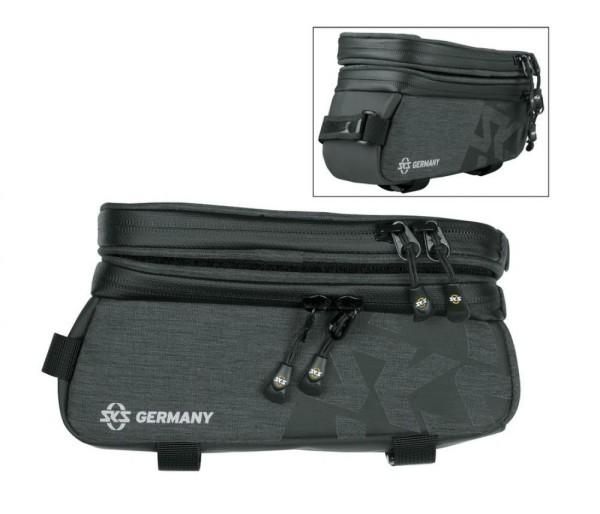 Oberrohrtasche SKS Traveller Smart schwarz, 200x100x11mm 95g 0,8L